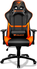 Cougar Armor black/orange