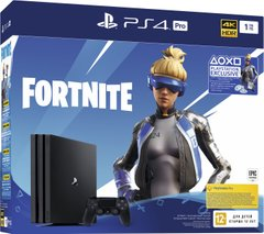 Sony PlayStation 4 Pro PS4 Pro 1TB + Fortnite