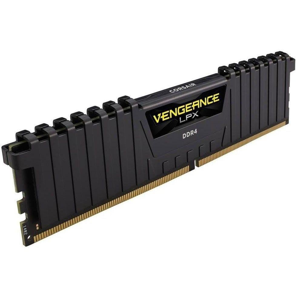Corsair 16 GB DDR4 2400 MHz Vengeance LPX Black (CMK16GX4M1A2400C14) фото 1 магазина компьютерной техники luckylink.kiev.ua.
