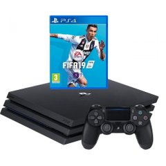 Sony PlayStation 4 Pro (PS4 Pro) + FIFA 19