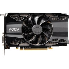 Видеокарта EVGA GeForce GTX 1660 XC GAMING 6GB (06G-P4-1163-KR) фото 1 магазина компьютерной техники luckylink.kiev.ua.