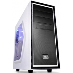 Корпус DeepCool TESSERACT SW WHITE фото 1 магазина компьютерной техники luckylink.kiev.ua.