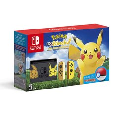 Nintendo Switch Let's Go Pikachu + Poke Ball