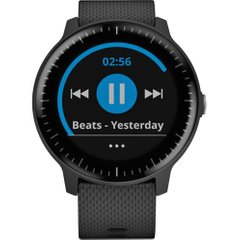 Garmin VIVOACTIVE 3 MUSIC BLACK WITH STAINLESS HARDWARE (010-01985-03)